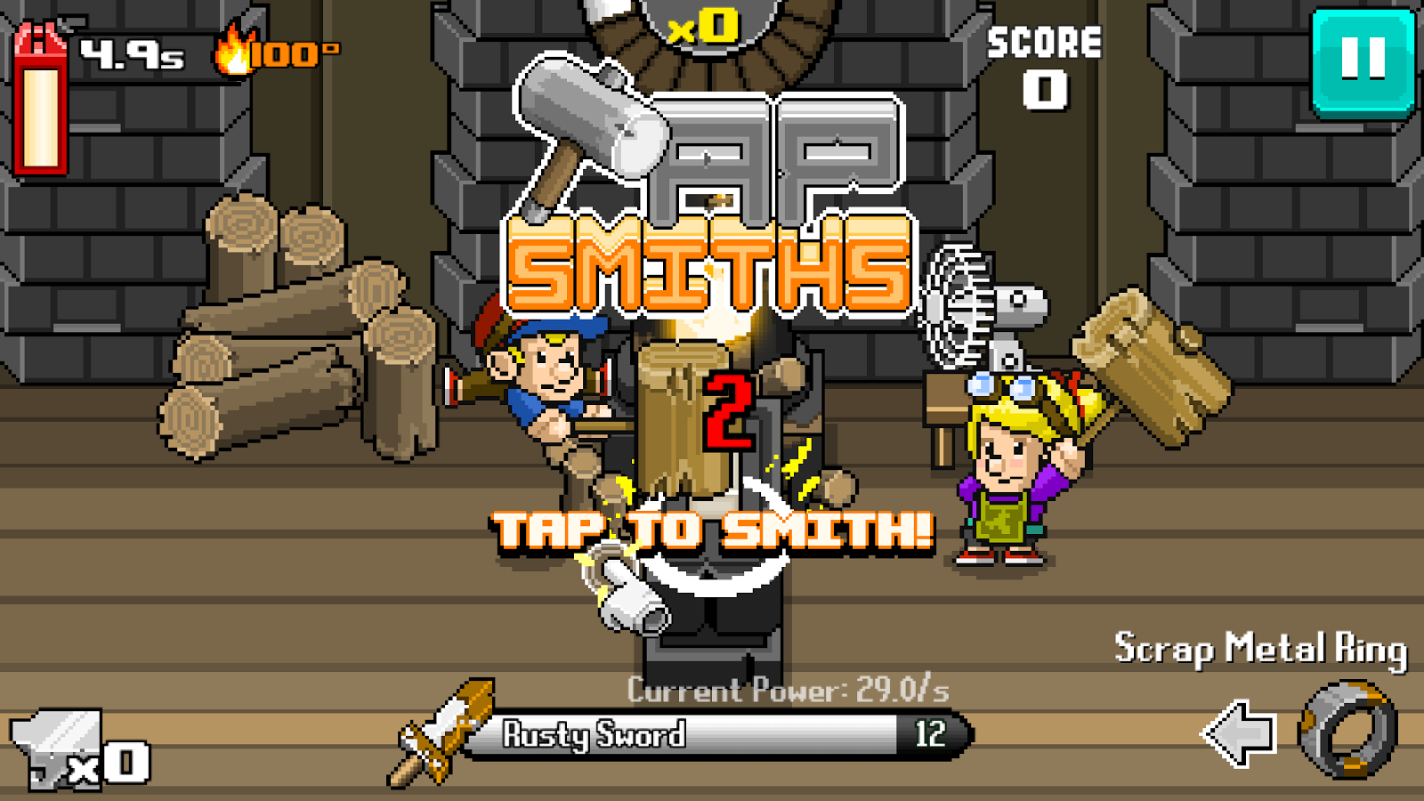 Tap Smiths- screenshot
