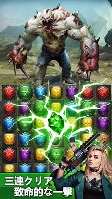 Zombies & Puzzles: RPG Match 3のおすすめ画像2