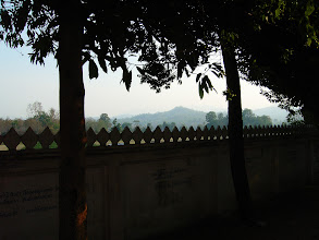 Photo: Over the Temple Wall