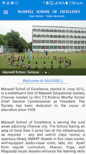 MAXWELL school APP- screenshot thumbnail