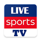 Live Sports TV Streaming Cricket TV Football TV icon