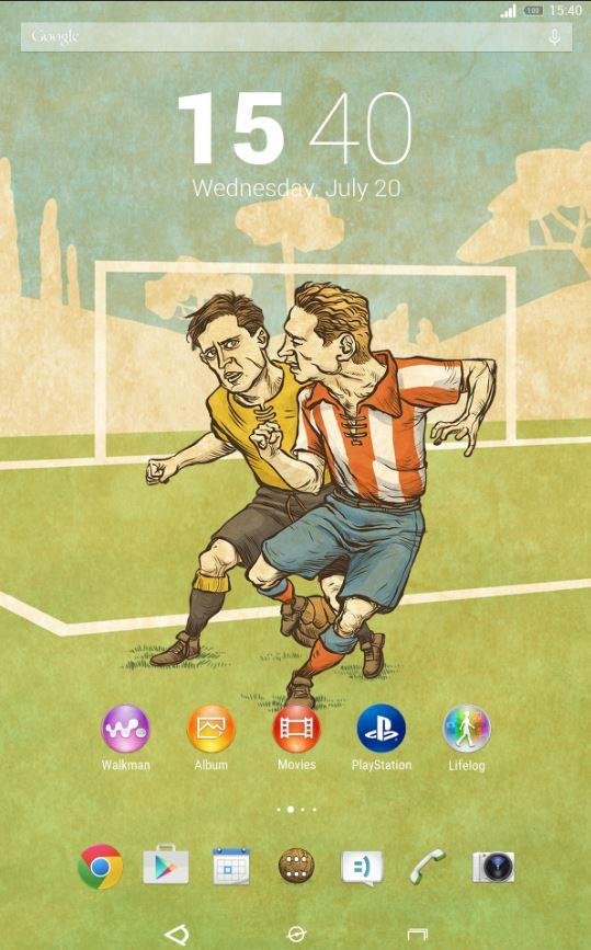 Soccer City (Xperia Theme)- screenshot