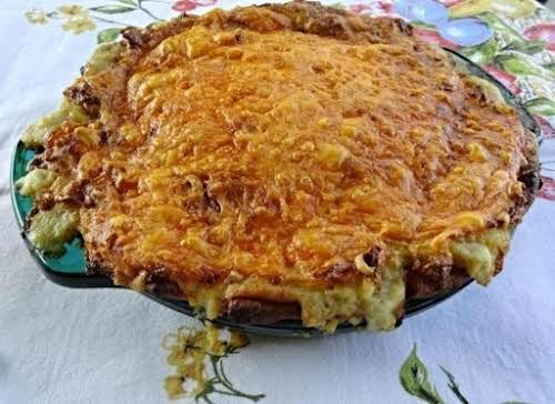 "Turkey Shepherd Pie ""Made this tonight with leftover Turkey. It was delicious...."