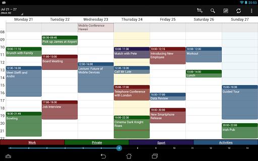 Business Calendar Beta screenshot 10