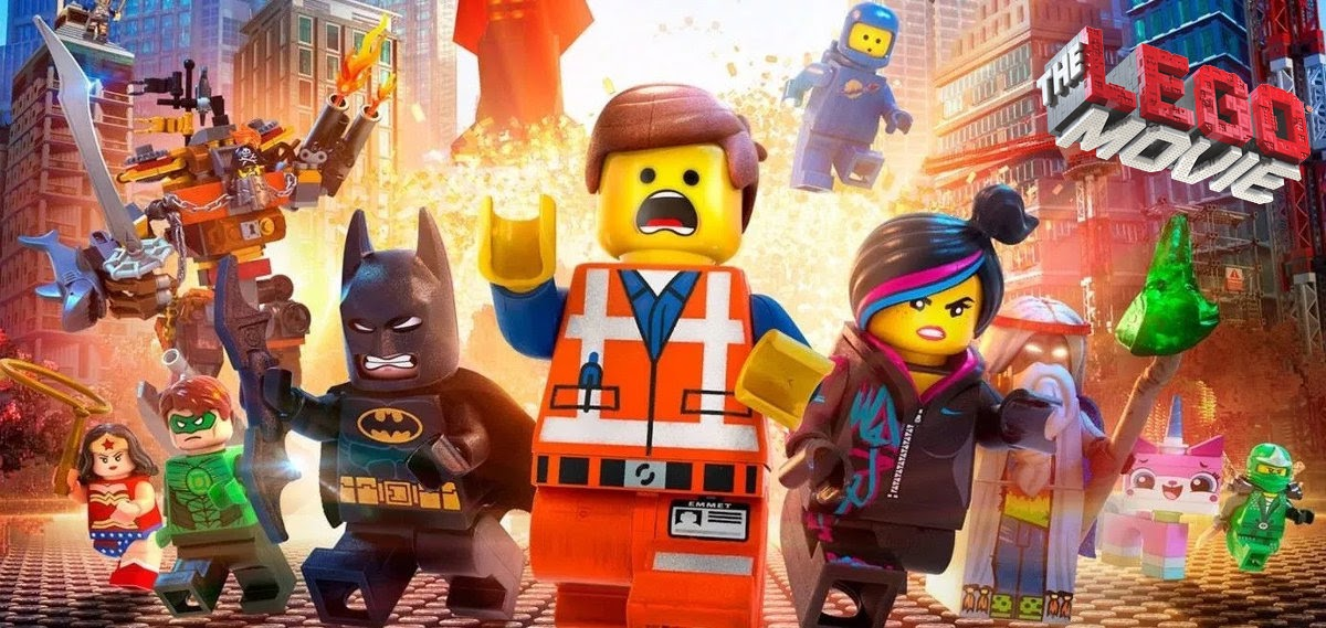 Image: The Lego Movie poster