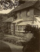 Photo: Nutwood Cottage, Godalming, Surrey. Wallace built this house and lived there between May 1881 and June 1889. Photographer: ? First published by the A. R. Wallace Memorial Fund  & G. W. Beccaloni in 2010. Scanned with permission from the original owned by the Wallace family. Copyright of scan and owner of Publication Right: A. R. Wallace Memorial Fund & G. W. Beccaloni.