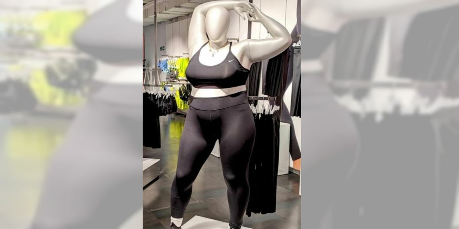 It seems like the whole world has something to say about the larger bodied Nike mannequin, so I joined them and provided comment to the SMH.