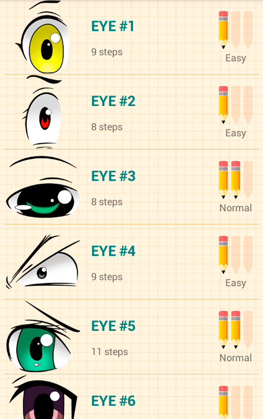 How to draw anime eyes android apps on google play how to draw anime eyes screenshot ccuart Image collections