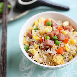 Spam Fried Rice.