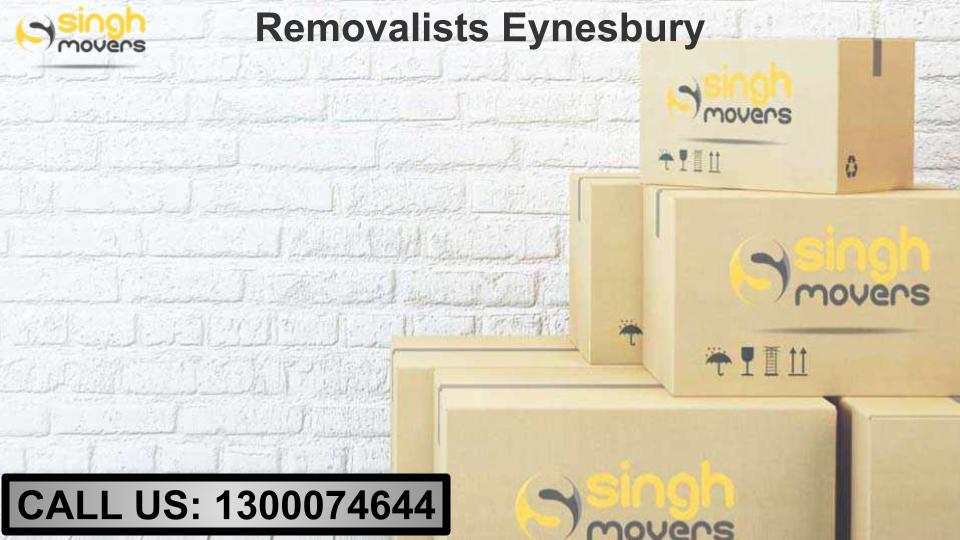 Removalists Eynesbury