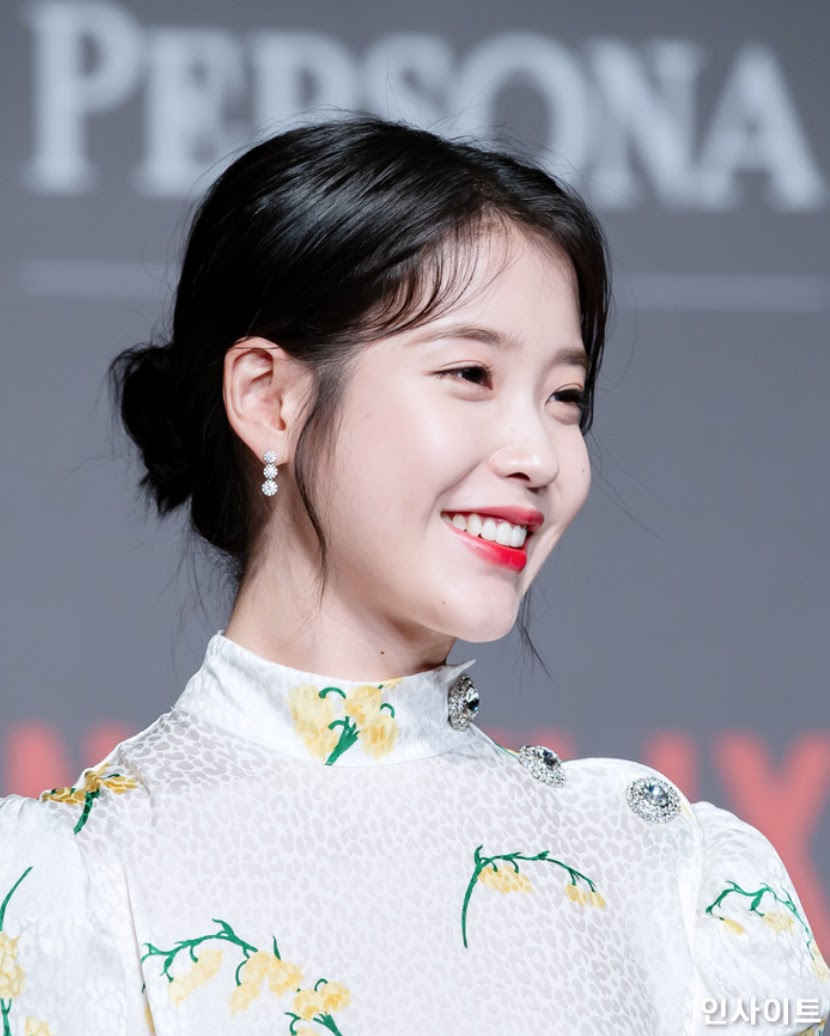 IU Showed up Looking Pure as Snow Ahead of Her Netflix Film Release