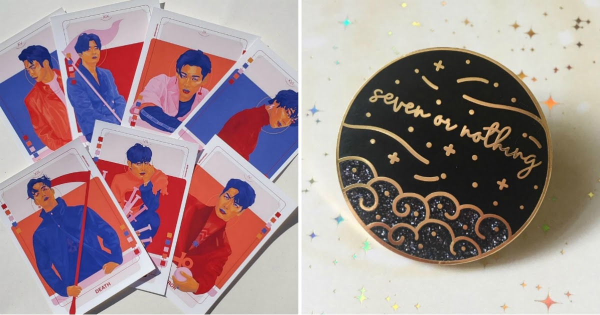 Here Are 20 Fun, Adorable, And Pretty Fan-Made GOT7 Goods To Tempt Your Wallet