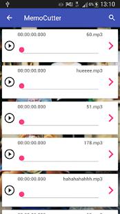 MemoCutter - náhled