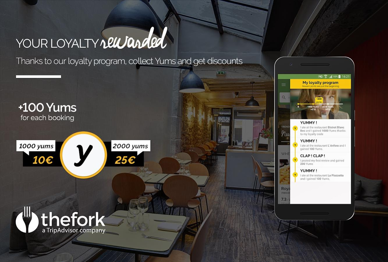 TheFork - Restaurants booking- screenshot