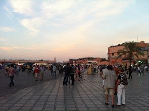 Photo: Place Jemaa-el-Fna à Marrakech