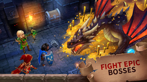 Forge of Glory: Match3 MMORPG & Action Puzzle Game by Kefir