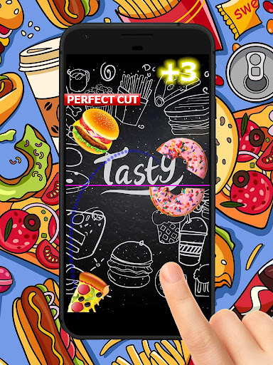 Fast Food Fight - Yummy Slicing Game to Slice Food cheat screenshots 3