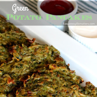 Green Potato Pancakes