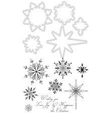 Kaisercraft Dies & Stamps - Snowflakes & Stars