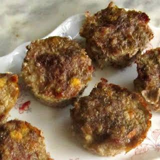 Sausage Meatloaf Muffins.