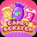 Candy Scratch - Win Prizes.Earn & Redeem Rewards icon