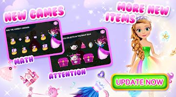 Screenshot of Preschool Learning: Princess