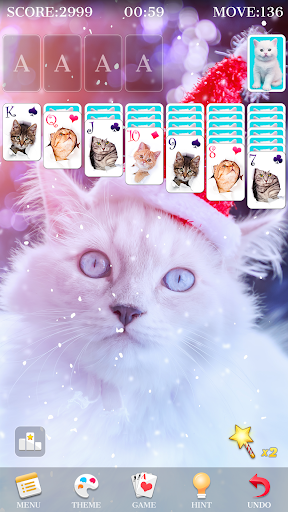 Solitaire - Beautiful Girl Themes, Funny Card Game 1.3.8 screenshots 2