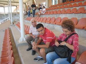 Photo: 18 Eylül 2010 - Ankara Hipodrom, ailece ganyan. Kuponumuz yatmış herhalde hepimiz ayrı bir yorgun. Hava çok sıcaktı galiba ondan.