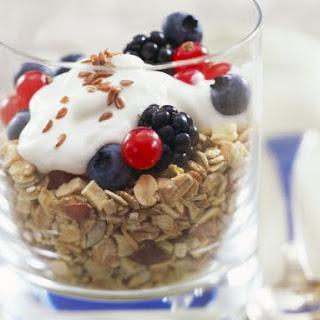 Breakfast Muesli with Yoghurt.