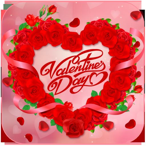 Valentine Love Rose Heart Theme