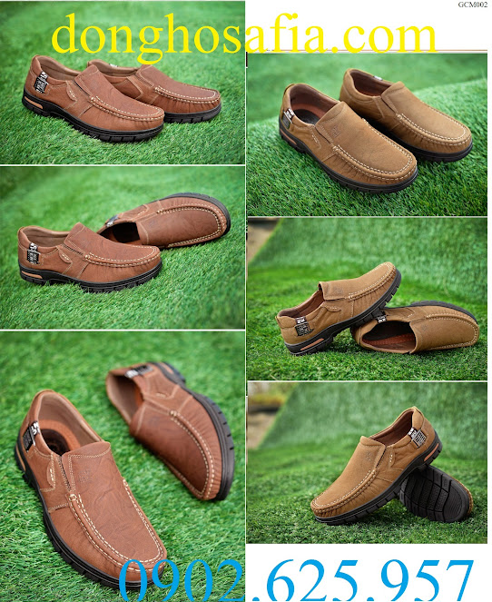 Giày da nam công sở Camel 2113 GCM002