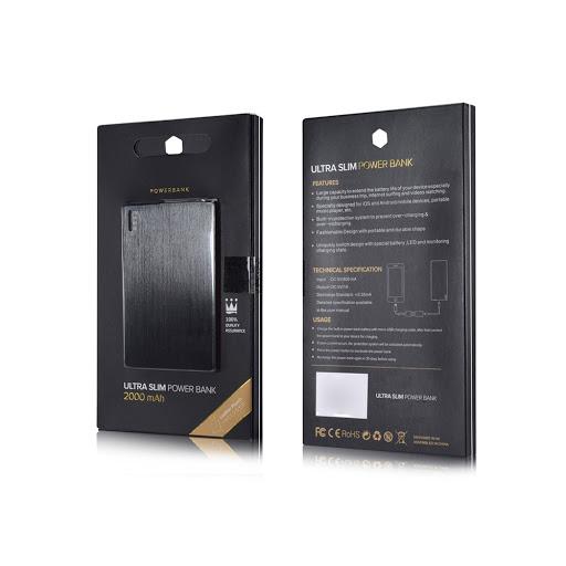 Ultra Slim Aluminium Powerbanks