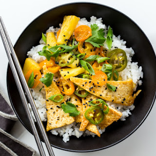 Tofu and Pineapple Stir-Fry