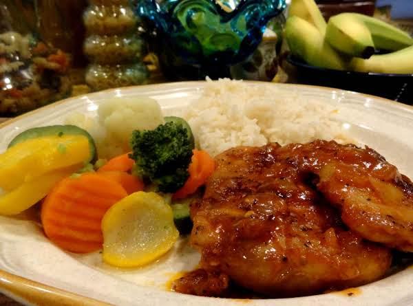 Bbq Chicken In A Skillet -- Bonnie's Recipe