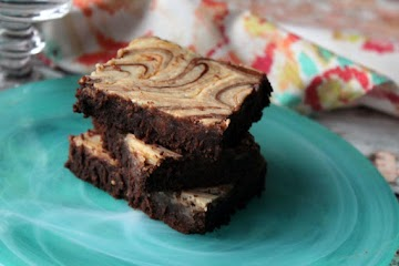 Sexy Smooth Cheesecake Butterscotch Brownies Recipe