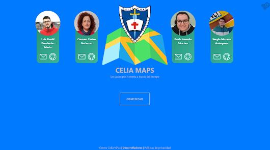 La APP Celia Maps superpone los mapas antiguos de Almería con el actual