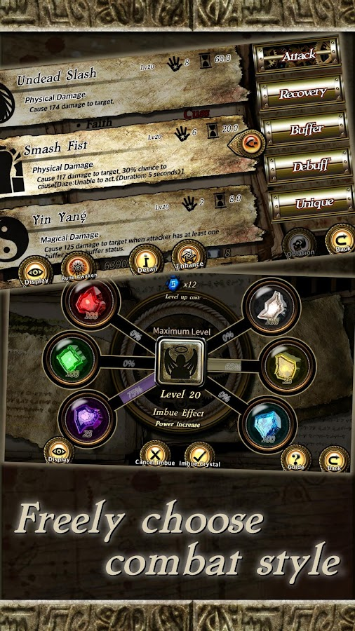 Rune Rebirth- screenshot