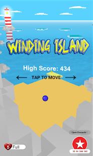Winding island - náhled