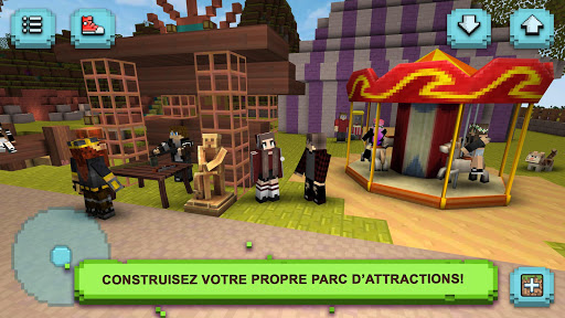 Theme Park Craft: Jeux de parc d'attractions captures d'u00e9cran 1