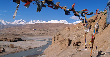 Photo: The mountains surrounding Purang, one of the ancient kingdoms of Western Tibet