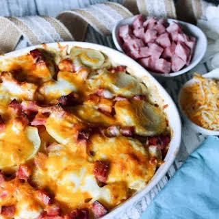 Jennie's Ham & Cheesy Potatoes Casserole.