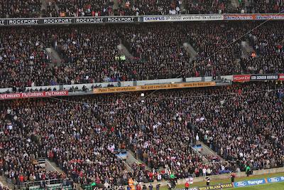 Full house at Twickenham