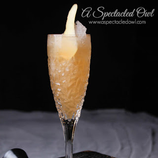 Golden Pear Champagne Cocktail Recipe