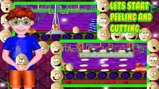 Tải Game Nhà máy khoai tây chiênnhà máy