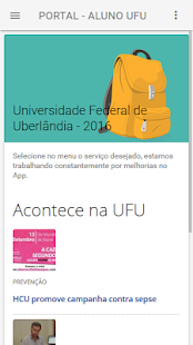 Portal do Aluno UFU- screenshot thumbnail