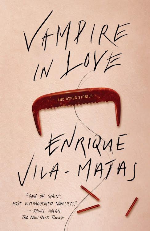 cover image for Enrique Vila-Matas with Paul Auster and Valeria Luiselli at the Instituto Cervantes