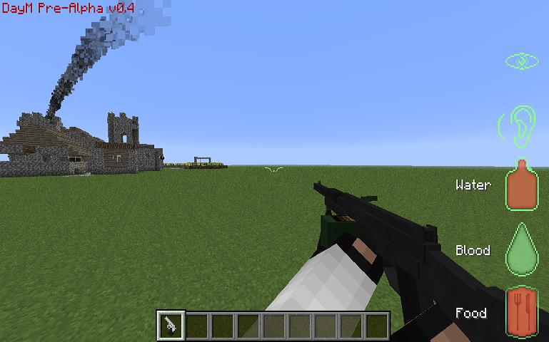 minecraft mods with guns