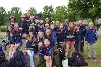 Photo: Skønne dejlige og rene børn klar til kanotur til Sverige