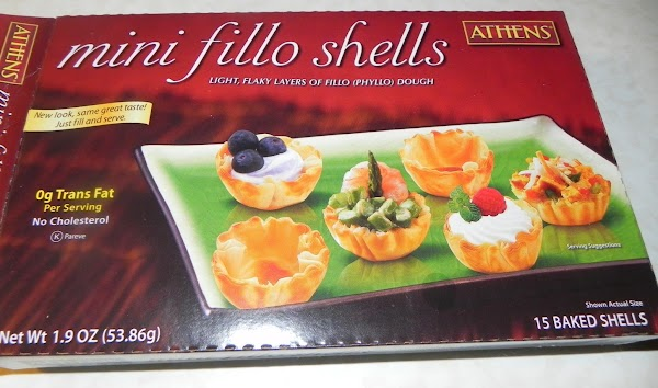 Here are the phyllo cups