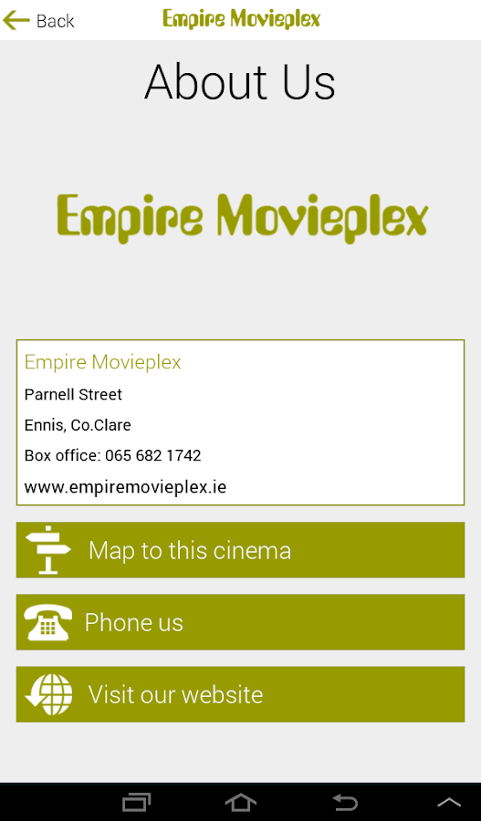 Empire Movieplex- screenshot
